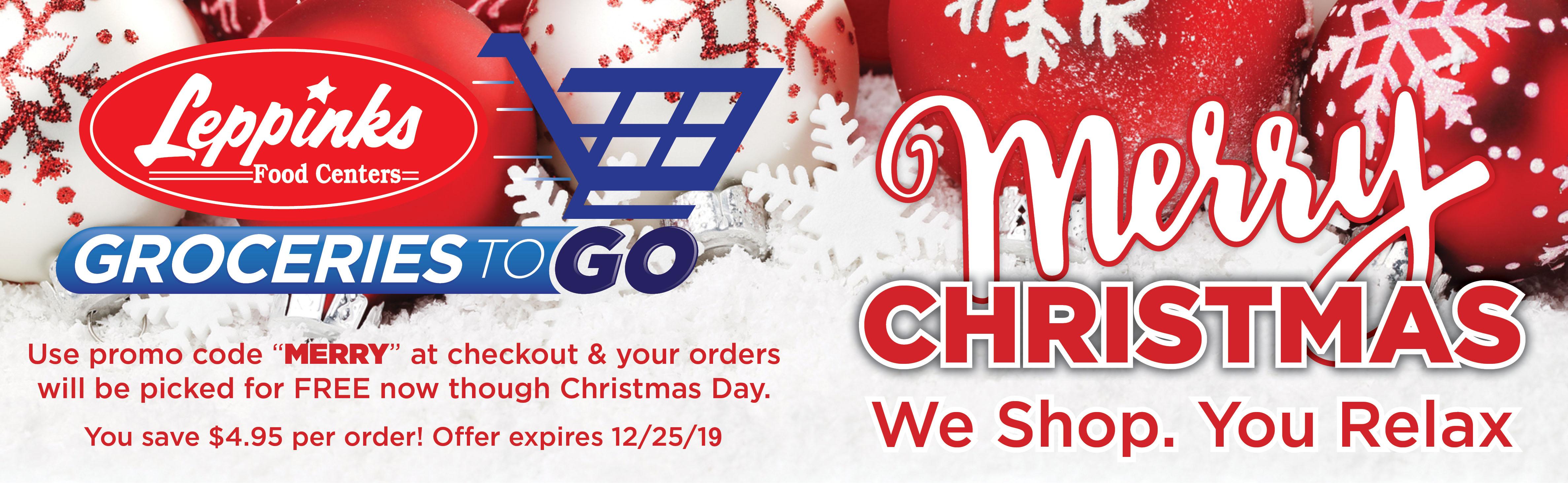 G2G Christmas Promo