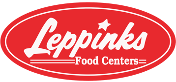 A theme logo of Leppinks Food Centers